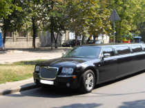 Лимузин Chrysler 300c черный